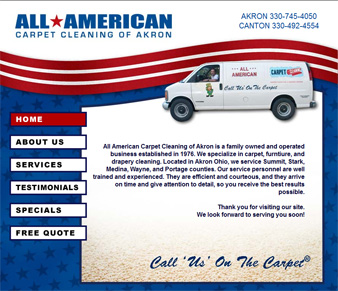 All American Carpet Cleaning of Akron