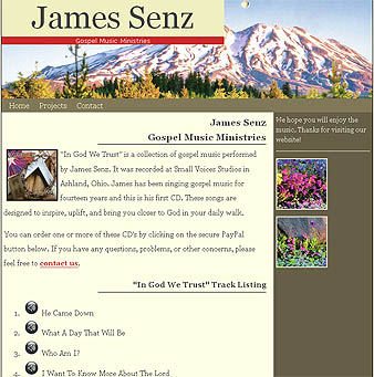 James Senz Home Page
