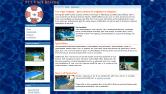 911 Pool Rescue Home Page