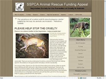 Seychelles Animal Rescue Funding Appeal